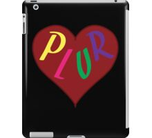 Live The PLUR Life iPad Case/Skin