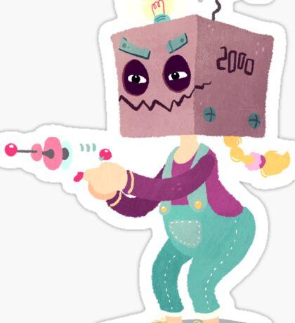 Halloween Kids - Robot Sticker
