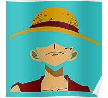 straw  hat luffy  Poster