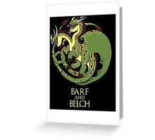 How to train your Targaryen - Zippleback Greeting Card