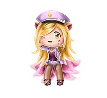 Popstar Ahri - what does the fox say? Photographic Print