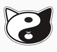 Meow Yin Yang One Piece - Short Sleeve
