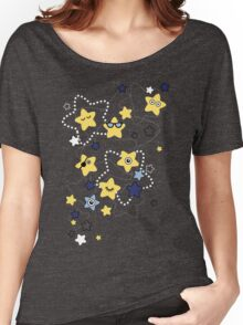 Cute Night Stars Women's Relaxed Fit T-Shirt