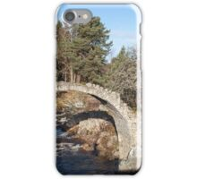 Old Packhorse Bridge, Carrbridge iPhone Case/Skin