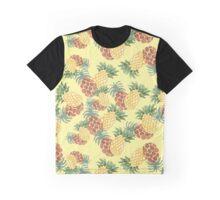 PINEAPPLE SHAKE YELLOW Graphic T-Shirt