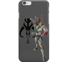 IRON MANdalorian iPhone Case/Skin