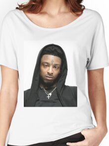 21 Savage Merch Women's Relaxed Fit T-Shirt
