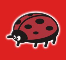 LADYBUG, Cartoon, LADYBIRD, Lady Bird, Lady Bug,  Baby Tee