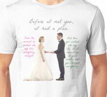 Olicity Wedding - Everything Changed Unisex T-Shirt