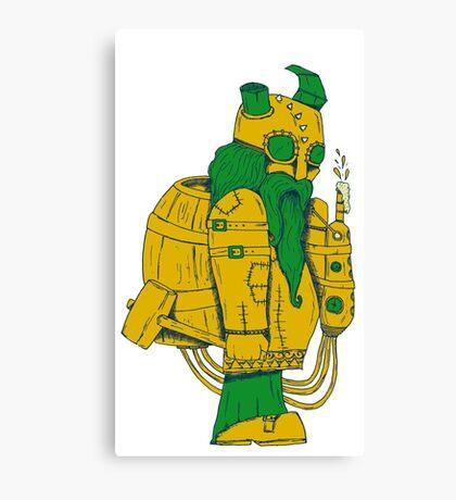 BEER DWARF Canvas Print