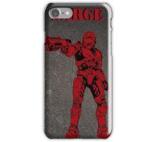 Red Vs Blue Sarge Texture Design - Phone Case iPhone Case/Skin