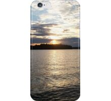 Sunrise on the Water iPhone Case/Skin