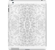 Ripple light mirror silver #2 iPad Case/Skin
