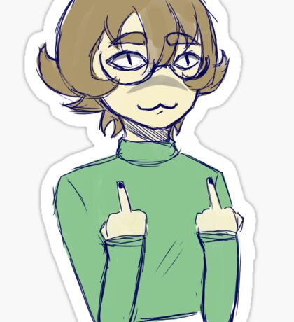 Rude Pidge Sticker