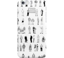52 Characters From The Wire iPhone Case/Skin