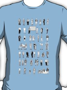 52 Characters From The Wire T-Shirt