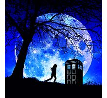 Tardis Night Photographic Print