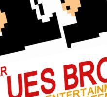 Super Blues Bros. Sticker