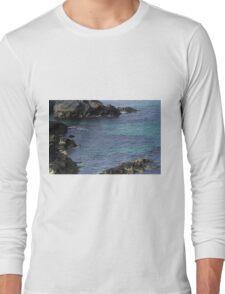 Blasket Island coastline, Dingle Long Sleeve T-Shirt
