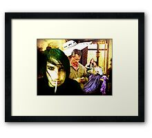 ~ Bah! UFO's. No such thing! ~ Framed Print