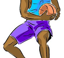 Basketball Player by kwg2200