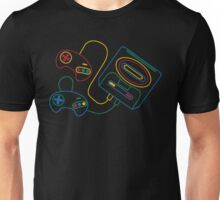 Sega Genesis Icon SFC Style Model 2 Ver. Unisex T-Shirt