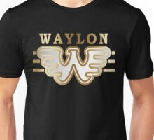 Great Waylon Jennings- Flying  W Unisex T-Shirt