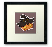 Pokemon Pumpkaboo Framed Print