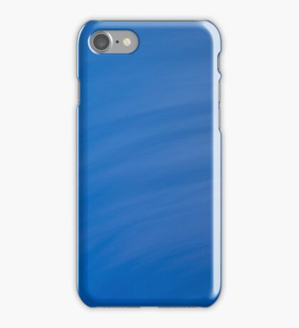 Blue Wave Abstract iPhone Case/Skin
