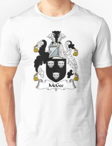 McGee Coat of Arms / McGee Family Crest T-Shirt