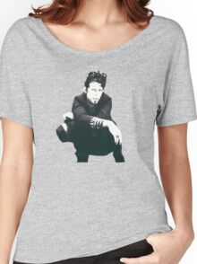 Tom Waits Image Women's Relaxed Fit T-Shirt