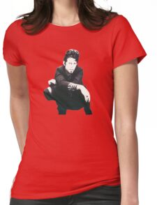 Tom Waits Image Womens Fitted T-Shirt