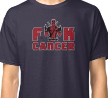 "Deadpool ""Fuck Cancer"" (The Original) Classic T-Shirt"