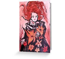 Emma the Mourning Doll Greeting Card