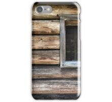 Log Cabin iPhone Case/Skin