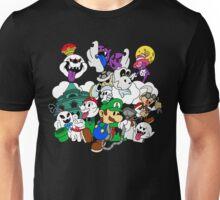 Luigi's Paper Mansion Color Ver. Unisex T-Shirt