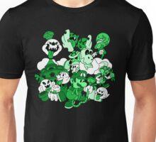 Luigi's Paper Mansion Green Ver. Unisex T-Shirt