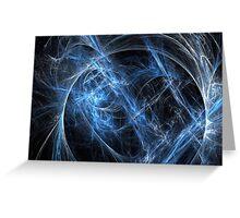 Blue universe 2 Greeting Card
