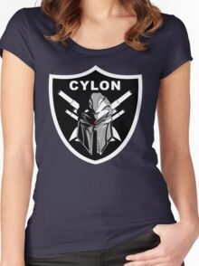 Cylon Raiders Women's Fitted Scoop T-Shirt