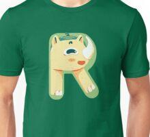 R for Rhino Unisex T-Shirt