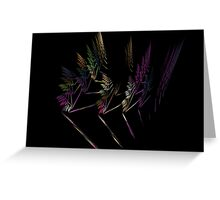Flying Feathers Greeting Card