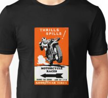 Vintage motorcycle poster Unisex T-Shirt