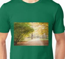 Yellow and green autumn leaves Unisex T-Shirt