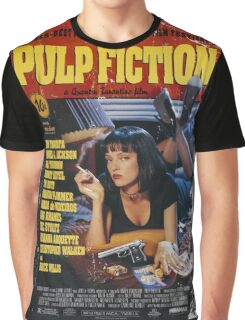 The Pulp Fiction Poster Graphic T-Shirt
