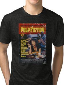 The Pulp Fiction Poster Tri-blend T-Shirt