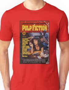 The Pulp Fiction Poster Unisex T-Shirt