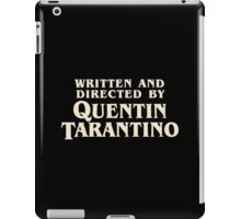 Pulp Fiction By Quentin Tarantino iPad Case/Skin