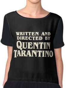 Pulp Fiction By Quentin Tarantino Chiffon Top