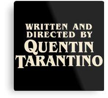 Pulp Fiction By Quentin Tarantino Metal Print
