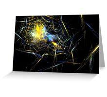 Glass Galaxies Greeting Card